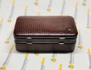 Маникюрный набор-шкатулка Zinger 1205-804Sm с заводской заточкой