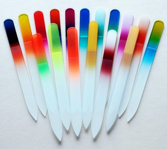 пилки для ногтей стеклянные