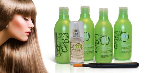 Для ламинирования волос косметика